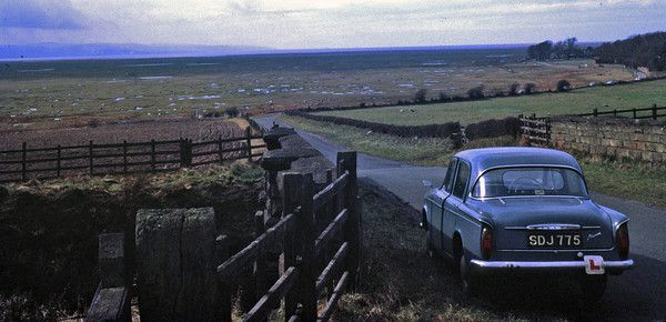 Hillman at Burton Marshes.