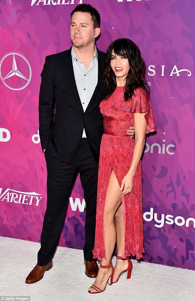 Hot couple: Jenna Dewan, 35, and her husband Channing Tatum, 36, attended the 2nd Annual S...