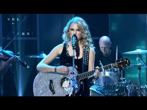 ▶ Teardrops On My Guitar - Taylor Swift - Live in 2008 New Year's Eve - YouTube