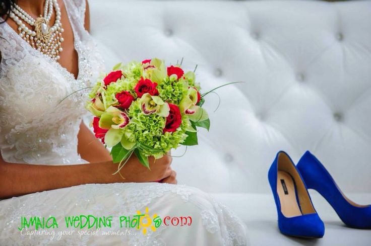 Wedding Bouquets Jamaica : Brides wedding bouquet with cymbidium orchids roses