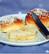 Finnische kleine süße Brötchen (Pikkupullat)