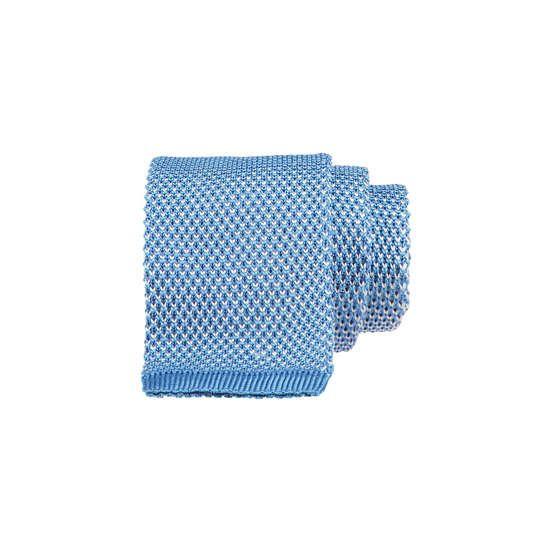 ANJA KÖLLN - Zweifarbige Strickkrawatte ► Die Krawatte von ANJA KÖLLN ist aus zweifarbiger Seide gestrickt, wodurch sich ihr melierter Effekt und die leicht gekörnte Struktur ergeben. Sportlich und elegant zugleich, ist das mit gerader Form endende Model ein vielseitig kombinierbarer Stylingpartner.