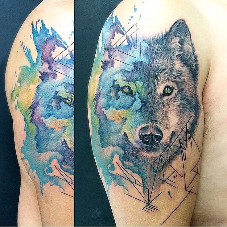 17 best Wolf Amazing Tattoo Designs images on Pinterest | Wolf ...