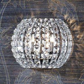 Kristall-Wandleuchte DIAMOND