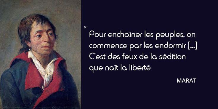 13 juillet 1793 : assassinat de Marat. Il est porté au Panthéon et prend la place de...