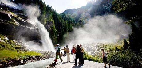 Österreichs höchster Wasserfall: Gier nach Gischt - SPIEGEL ONLINE - Nachrichten - Reise