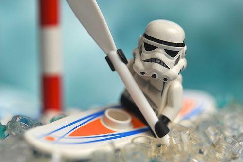StormTrooper Olympics Canoe Slalom