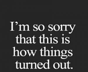 50 I'm Sorry Quotes | Sorry Quotes For Him And Her