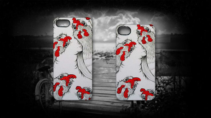 'Chook Lookin' by Sally Ford. #Chicken #Animals #iPhone #Cases #Funny #Chook #Birds #Art #Artmobilis