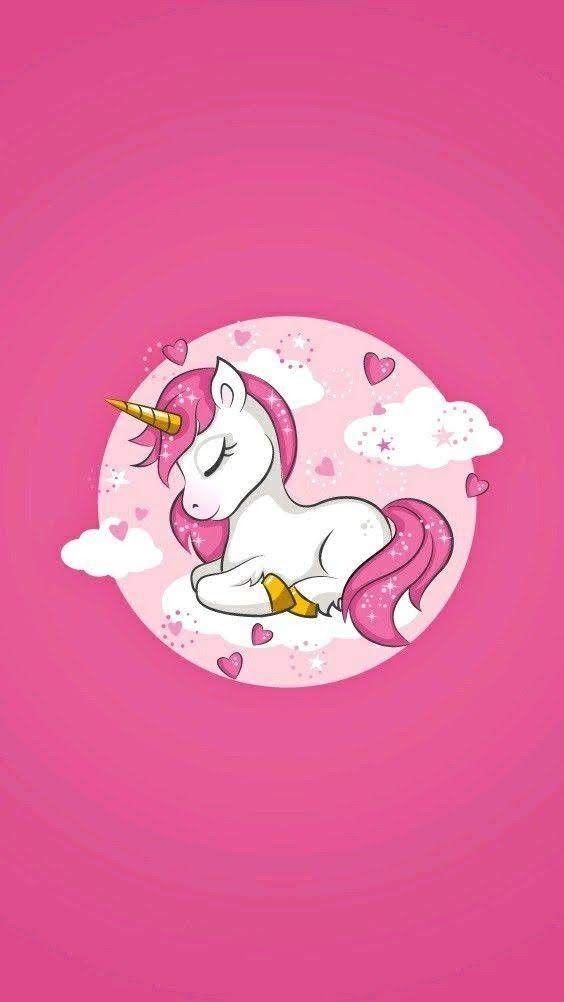 Pin By Erna Nel On Unicorn In 2019 Pink Unicorn Wallpaper