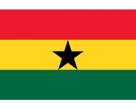 Ghana Flag-  The red represents the blood that was shed towards independence, the gold represents the industrial minerals wealth of Ghana, the green symbolises the rich grasslands of Ghana, and the black star is the symbol of the Ghanaian people and African emancipation.