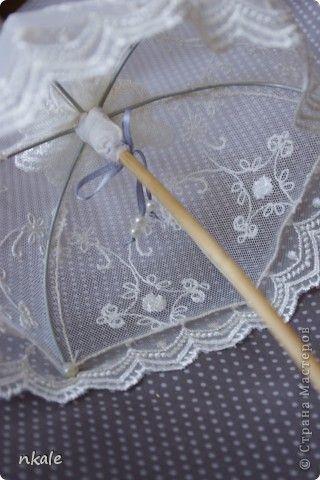 Мастер-класс Шитьё: Мастер-класс от Nkale: Кружевной зонтик Ткань. Фото 1