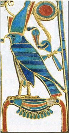 Pectoral  Sesostris II, Detail,  Egypt