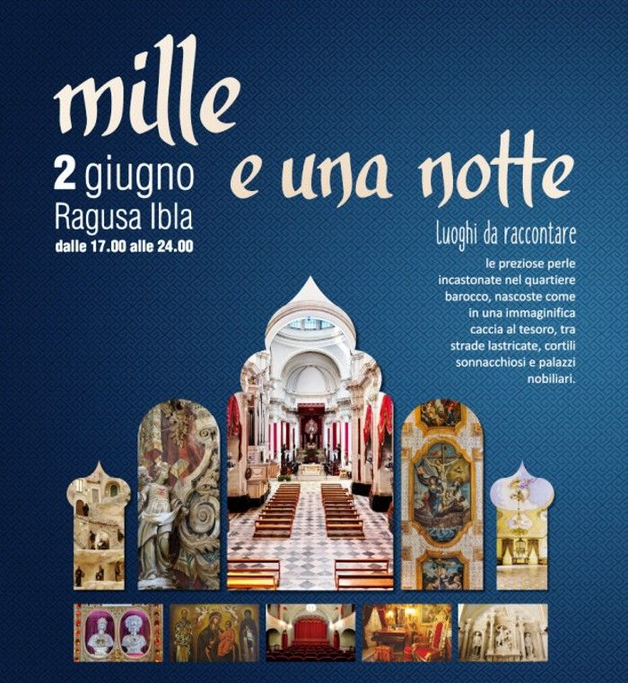 """Mille e una Notte"" a Ragusa Ibla 