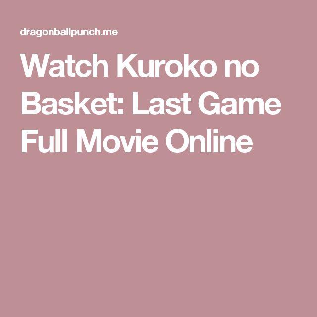 Best 25+ Watch Kuroko No Basket Ideas On Pinterest