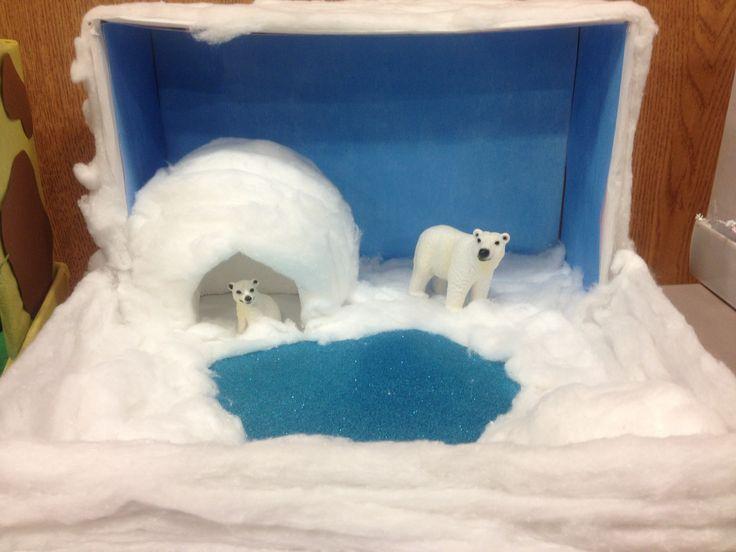 Polar bear Diarama