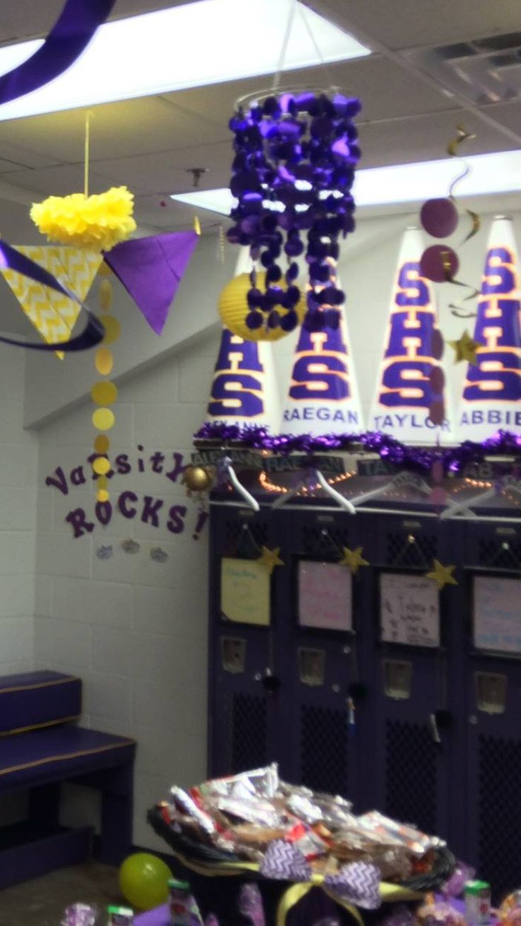 11 best cheer locker room decorations images on pinterest