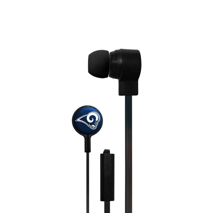 NFL Los Angeles Rams Wired Ear Buds
