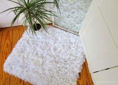 Tapete de fios de lã pode ficar em qualquer cômodo ou espaço (Foto: urbansleekblonde.blogspot.com.br)
