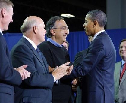 Barack Obama e Sergio Marchionne