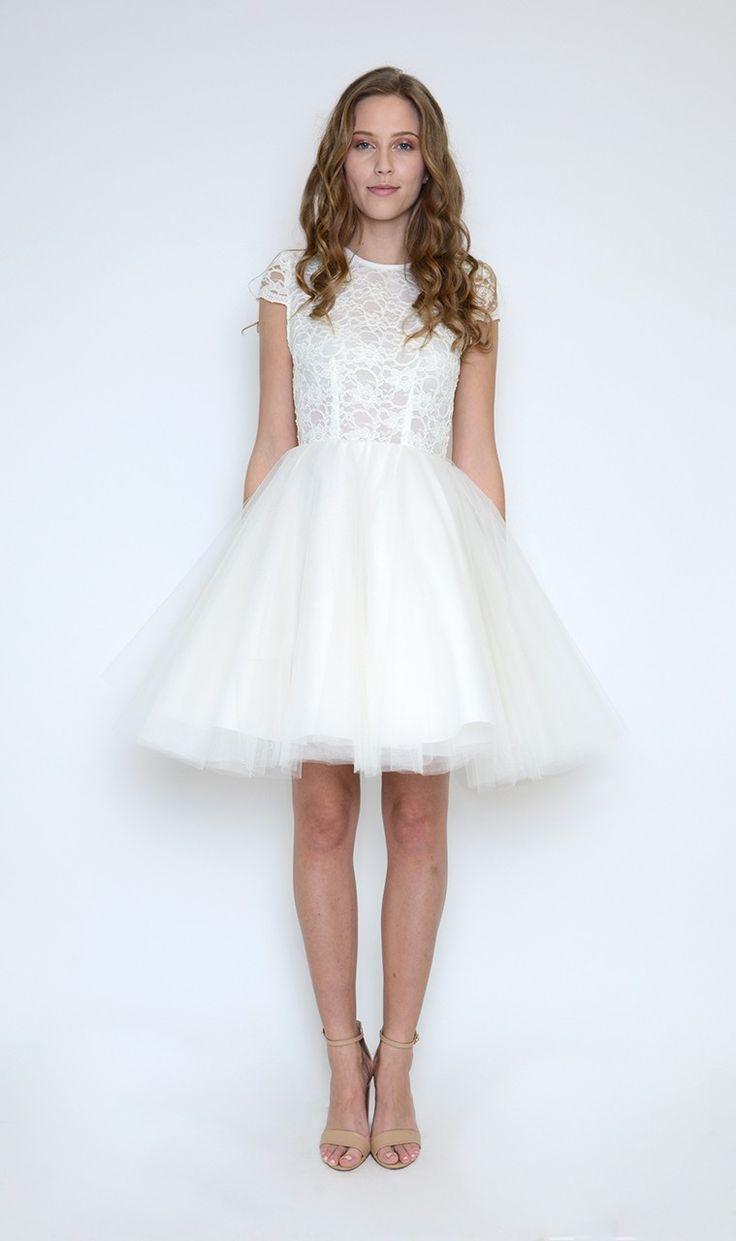 Jones and jones white laura dress