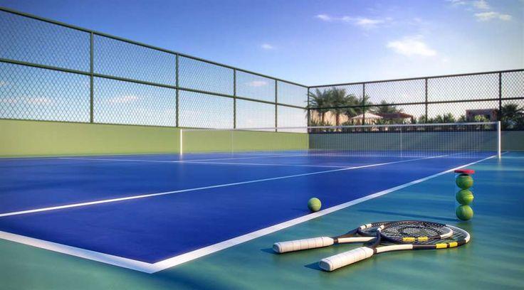 Quadra de tenis oficial