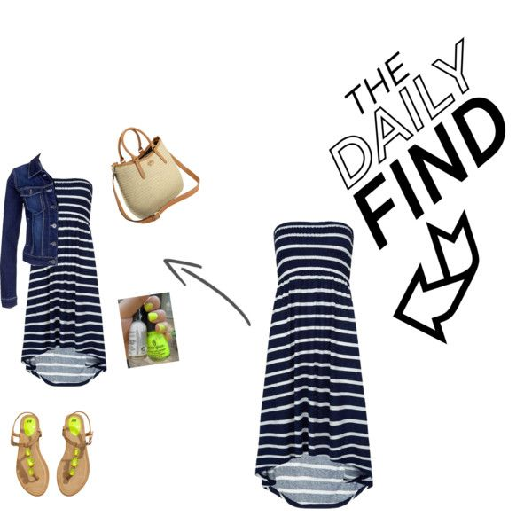 The Daily Find by own-style on Polyvore featuring moda, Vero Moda, H&M and Fiorelli