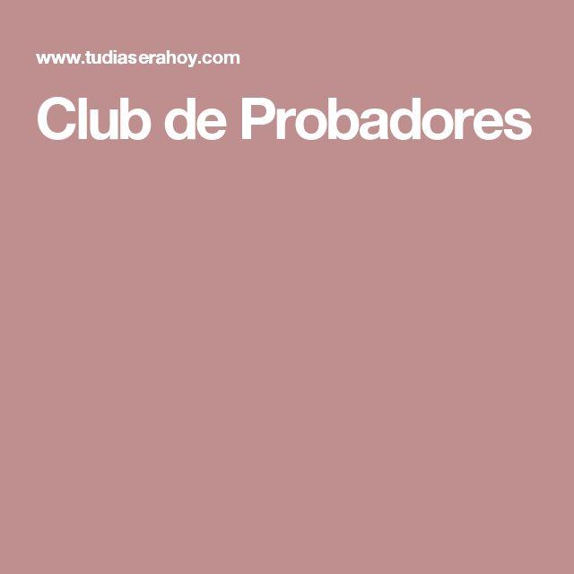 Club de Probadores