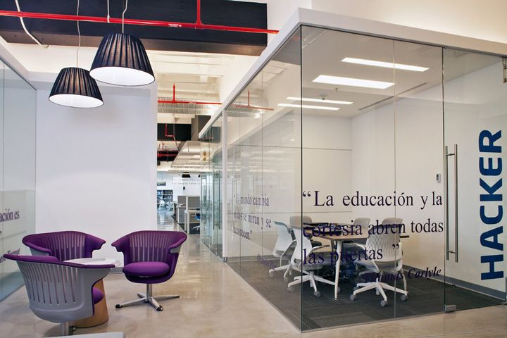 Office Design Santillana offices by Space, Mexico City » Retail Design Blog