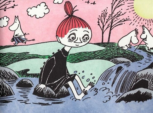 Water is important for more than just drinking. | 50 Lessons That Moomins Can Teach You About Life