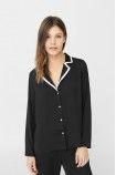 Mango – Pyžamová košile Dream černá 5931-BID00W na Answear.cz   odeslání do 24 hodin