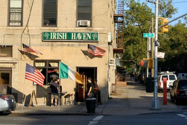 Sully's Irish pub in Brooklyn... Where the girls meet again 10 years after being bust up at St Joe's Covent School. Irish Haven Bar — Brooklyn, New York