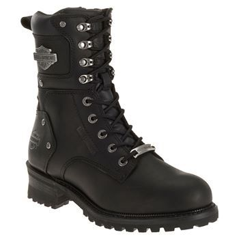 Harley-Davidson Men's Elson Lace-Up Motorcycle Boots  | BootBarn