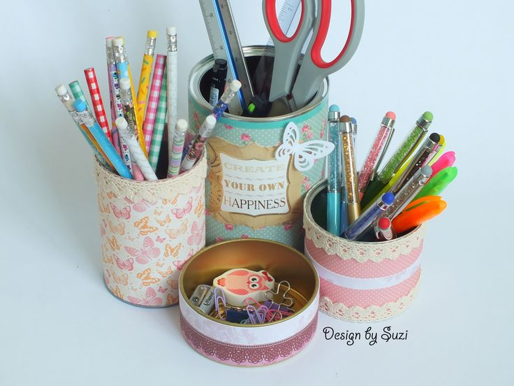 Diy holder for school/office supplies