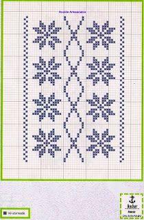 Anaide Ponto Cruz: Lindos gráficos em ponto de cruz para toalhas,bom trabalho para você bordadeira!!!!!