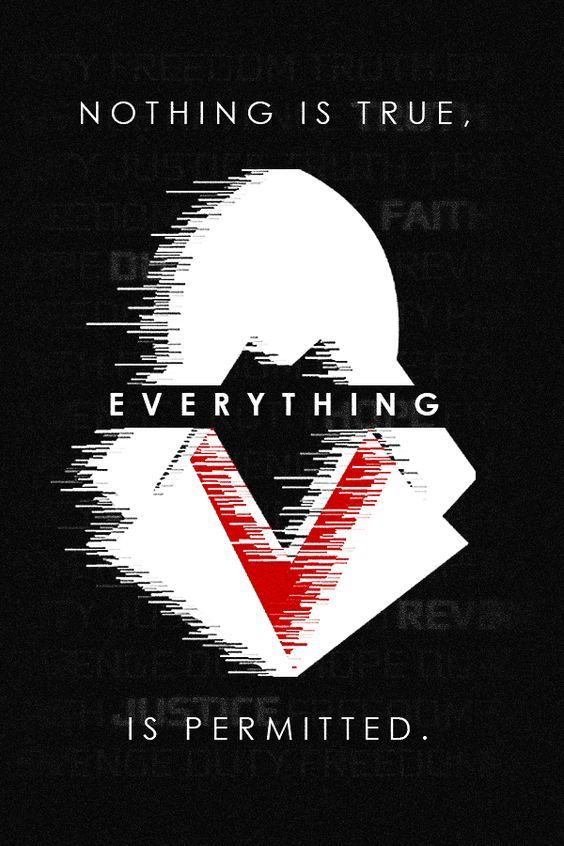 AC Nothing Is True Everything Permitted