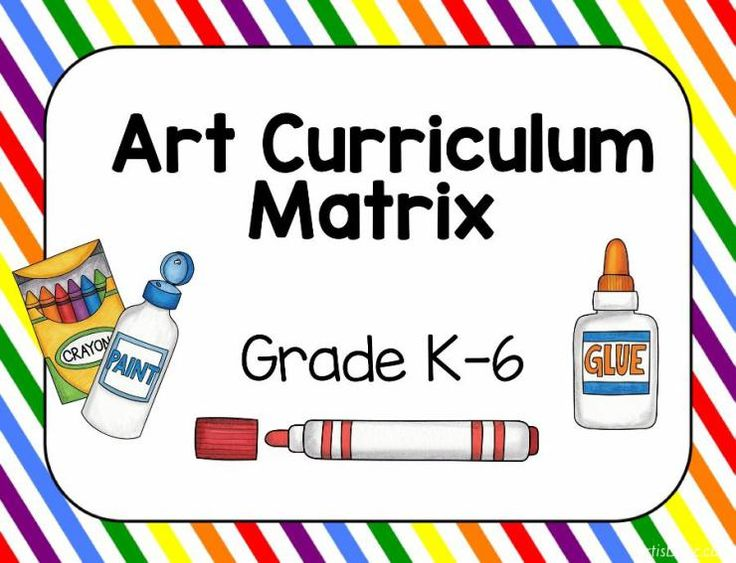 Hi! I recently finished rewriting my K-6 art curriculum plan. We are required to do this every 4 years. You can see my first blog post about organizing curriculum that I wrote a few years back. I use