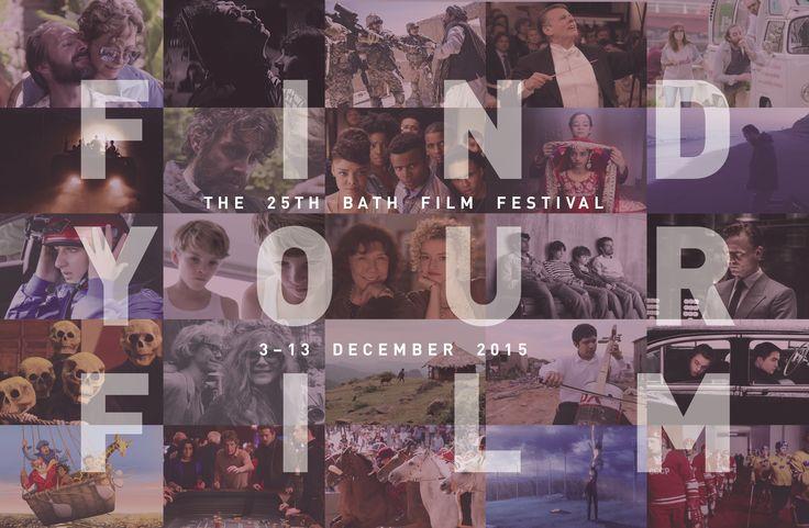 Awesome film poster Bath Film Festival!