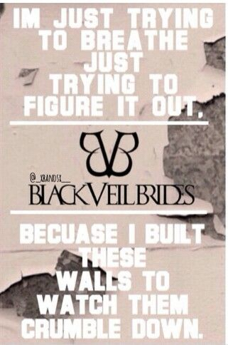 Lost It All lyrics, Black Veil Brides