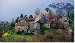 Sacro Monte Church, Lake Orta, Italy