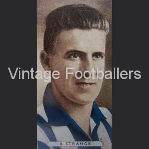 Alf Strange Sheffield Wednesday 1934 Bradford Park AvenueSheffield WednesdayFootball