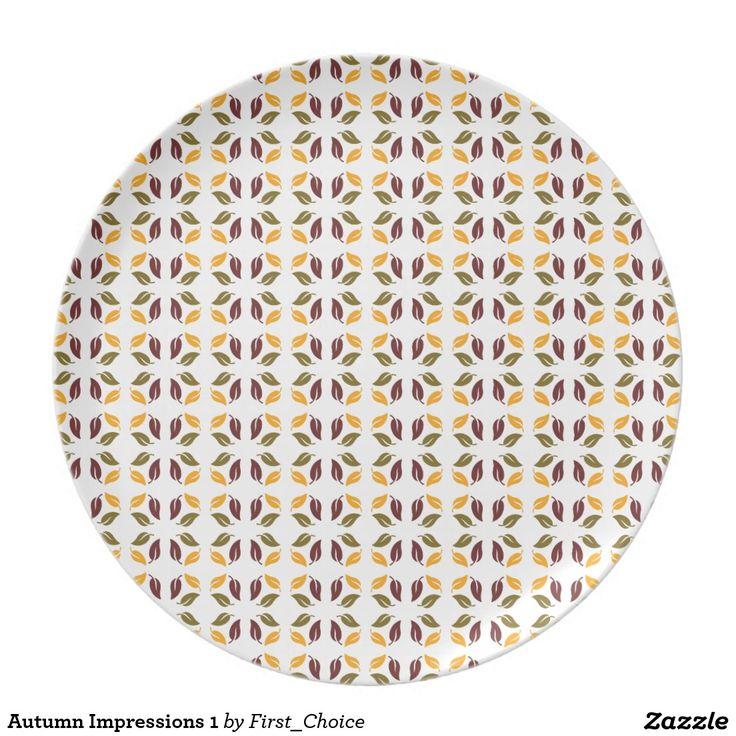 Autumn Impressions 1 Plate
