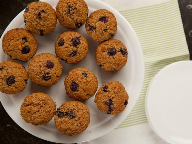 Get Blueberry Bran Muffins Recipe from Food Network