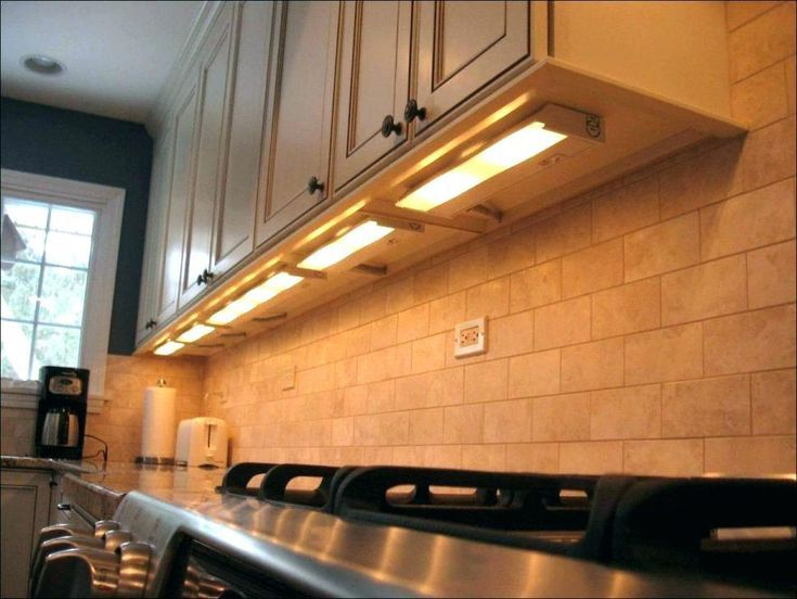 Lighting Counter Kitchen Under Cabinet Lighting Installing
