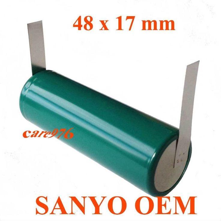 Oral-B Triumph Professional Care Toothbrush Repair Battery SANYO 48mmLx17mmD