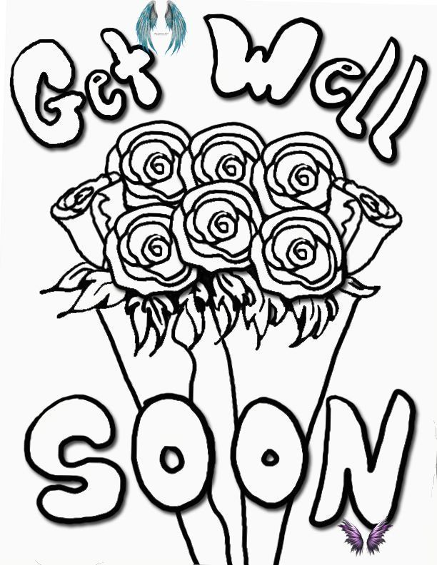 Get Well Soon Coloring Pages Br I 2020