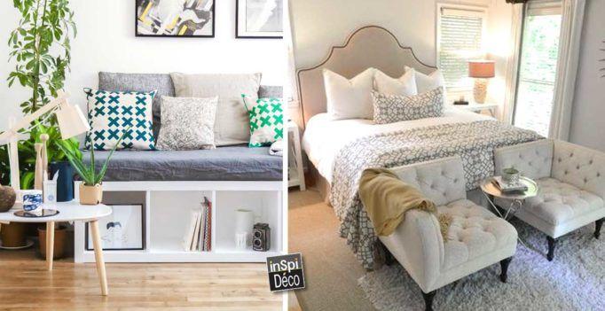 20 idées déco pour votre pied de lit! Laissez-vous inspirer…