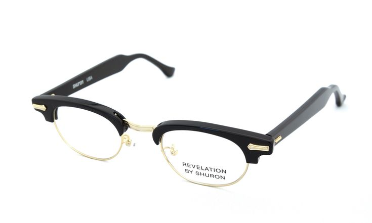 SHURON(シュロン)RONSIR REVELATION (Black/Gold) 44サイズ | メガネ | eyewear | optician | ポンメガネWEB