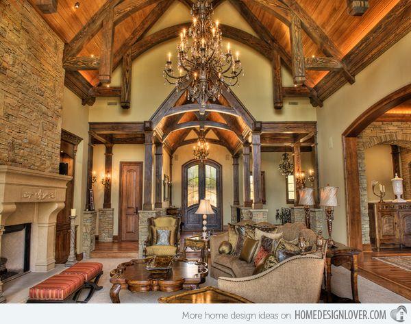 Stunning Tuscan Living Rooms Photos   Home Design Ideas   Eddymerckx.us