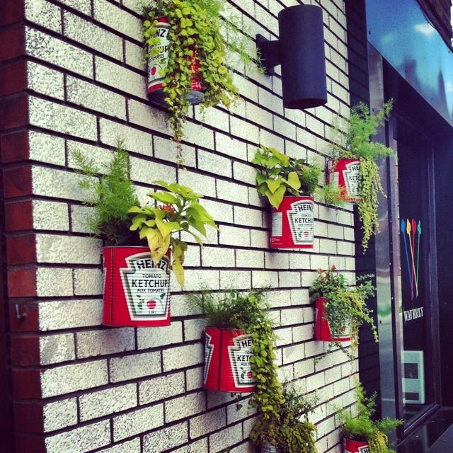 Pots de fleurs Heinz